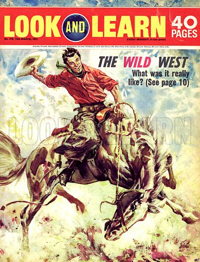 The American Cowboy: The Wild West.