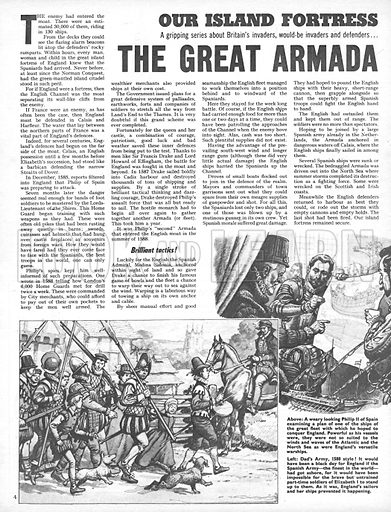 Our Island Fortress: The Great Armada.