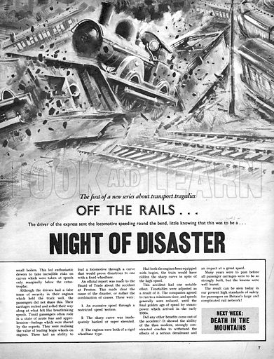 Off the Rails: Night of Disaster. The crash of the express service at Preston on 15 August 1896.