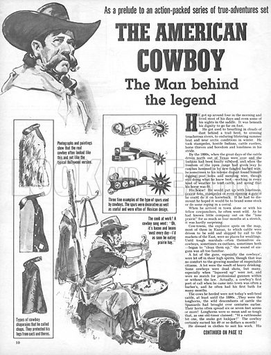 The American Cowboy: The Man behind the legend.