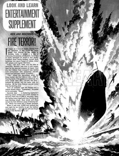 Men and Machines: Fire Terror!.