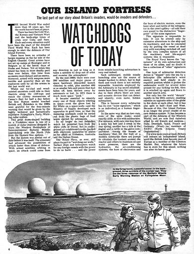 Our Island Fortress: Watchdogs of Today.