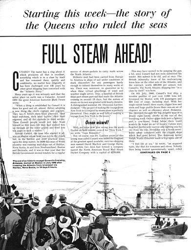 Full Steam Ahead!.
