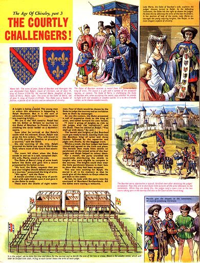 The Age of Chivalry: The Courtly Challengers!.