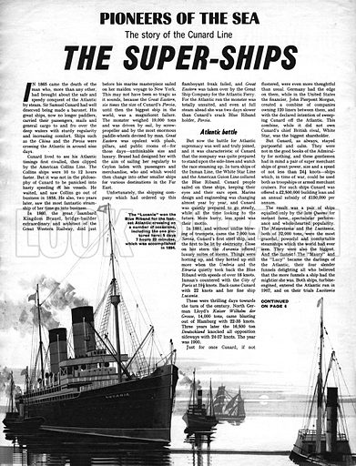 Pioneers of the Sea: The Super-Ships.