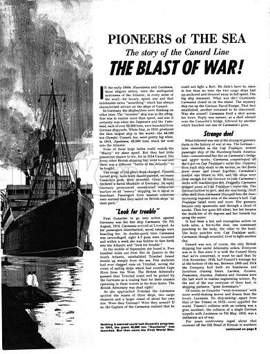 Pioneers of the Sea: The Blast of War!.