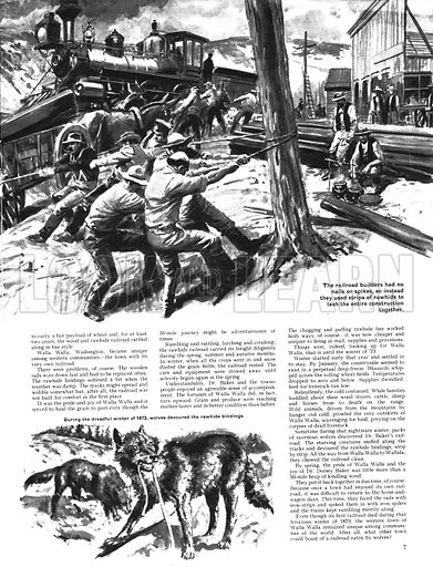 True Tales of the American West: The Railroad that was Eaten!.
