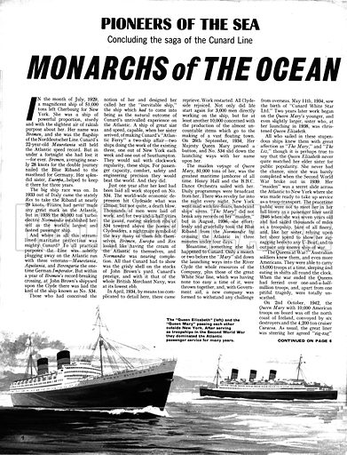 Pioneers of the Sea: Monarchs of the Ocean.