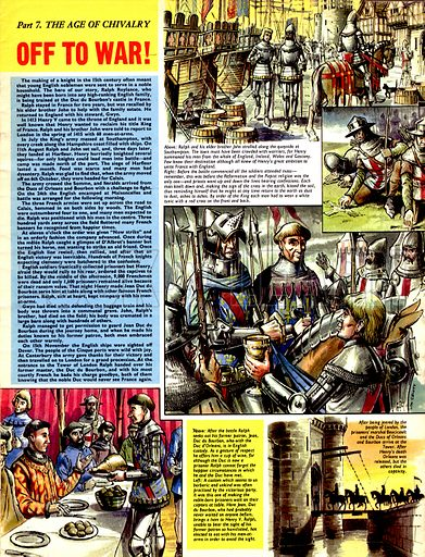 The Age of Chivalry: Off to War!.