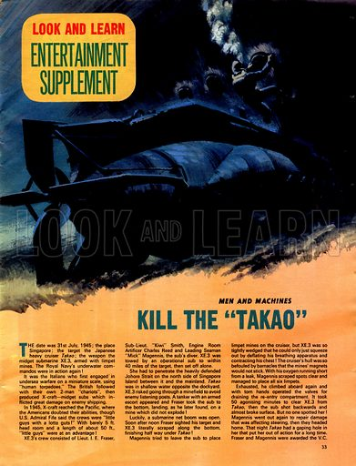 Men and Machines: Sink the Takao.