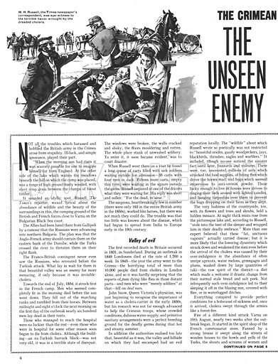 The Story of the Crimean War: The Unseen Enemy.