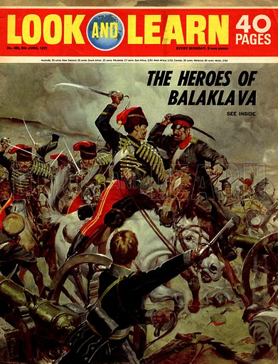The Story of the Crimean War: The Heroes of Balaklava.