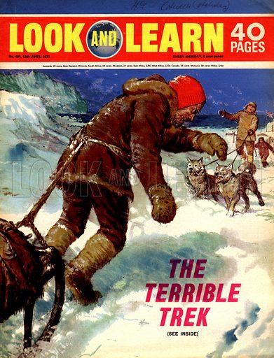 The Terrible Trek. Douglas Mawson's four month trek across the Antarctic in 1912.