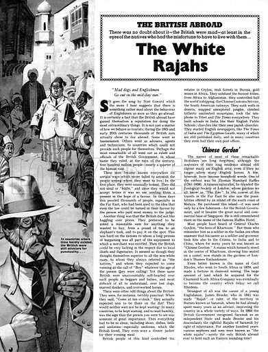 The British Abroad: The White Rajahs.