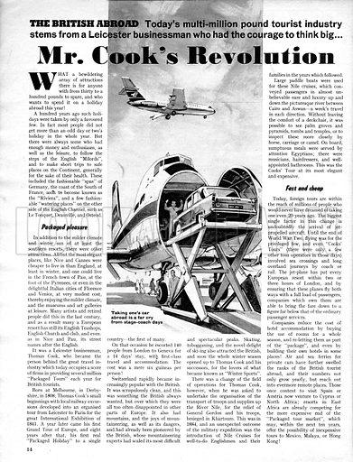 The British Abroad: Mr. Cook's Revolution.