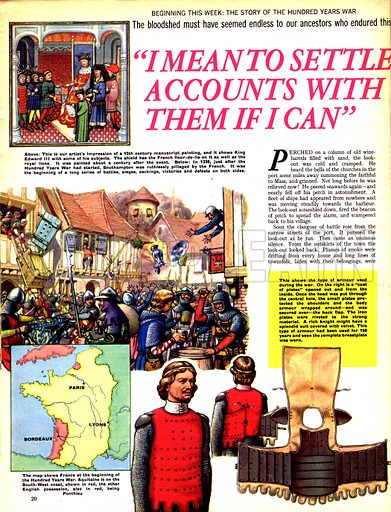 """The Hundred Years War: """"I Mean to Settle Accounts With Them If I Can""""."""