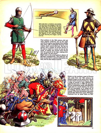 """The Hundred Years War: """"Let the Boy Win His Spurs""""."""