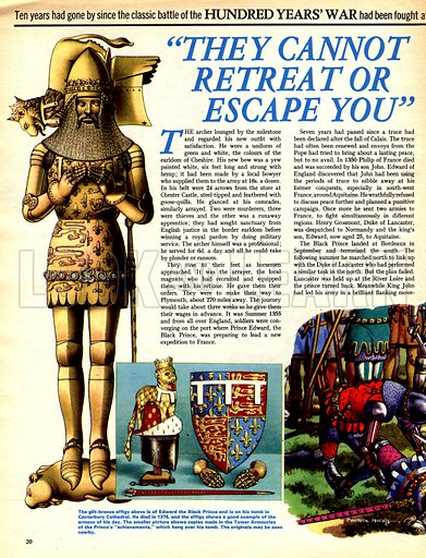 """The Hundred Years War: """"They Cannot Retrait or Escape You""""."""