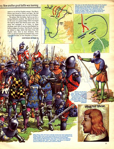 "The Hundred Years War: ""They Cannot Retrait or Escape You""."
