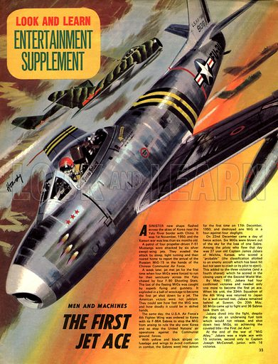 Men and Machines: The First Jet Ace.