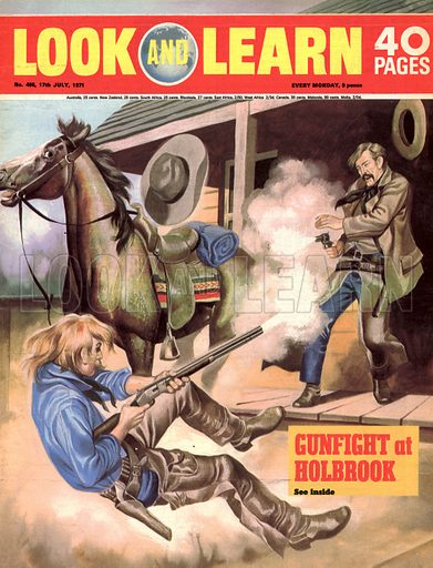 Gunfight at Holbrook.