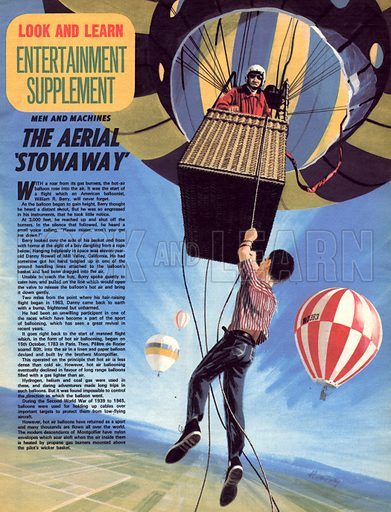 Men and Machines: The Aerial 'Stowaway'.