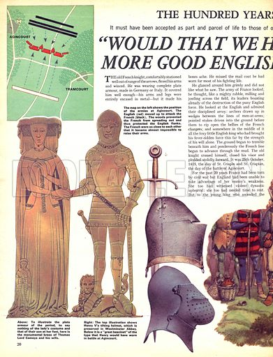 """The Hundred Years War: """"Would That We Had 10,000 More Good English Archers!""""."""