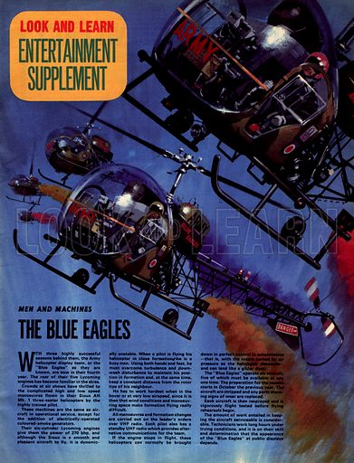 Men and Machines: The Blue Eagles.