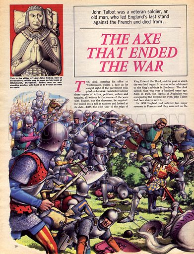 The Hundred Years War: The Axe That Ended the War.