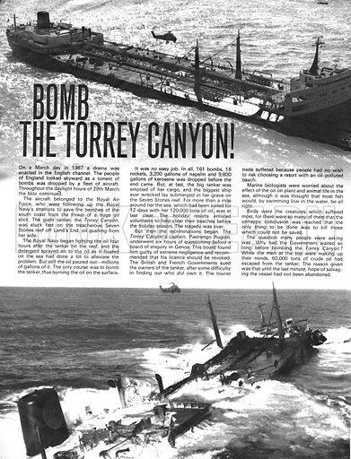 Bomb the Torrey Canyon!.