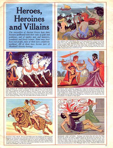 Heroes, Heroines and Villains.