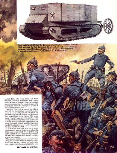 The History of the Motor Car: The Petrol Engine Goes to War.