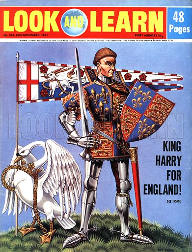 Mighty Monarchs: King Harry for England! King Henry V.