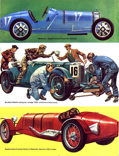 The History of the Motor Car: Enter the Sporting Car!.