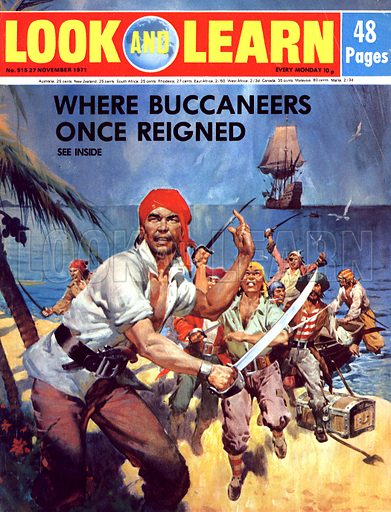 Where Once Buccaneers Reigned. When pirates controlled the West Indies.