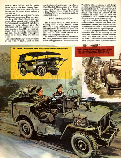 The History of the Motor Car: Weird 'Weapons' of War.