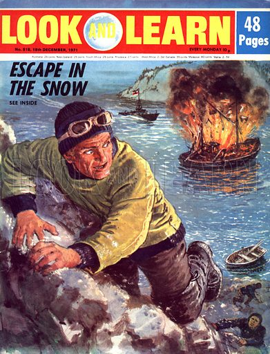 On the Run: Escape in the Snow. Jan Baalstrud was a Norwegian fleeing from the Germans in his own land. His countrymen risked their lives to help him.