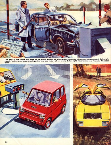 The History of the Motor Car: Driving Into the Future.