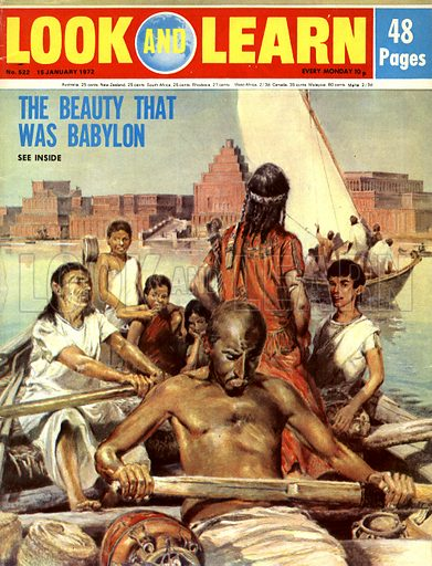 The Beauty That Was Babylon. The mighty city of Babylon, founded around 2300 BC in Mesopotamia, the ruins of which can still be seen in today's Iraq on the banks of the Euphrates.