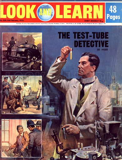 The Test-Tube Detective. Developments in forensic science assist the police in their investigations.