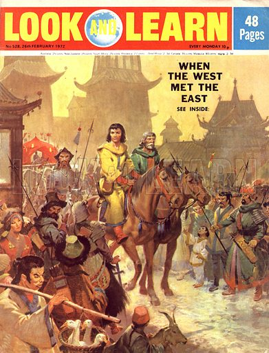 When the West Met the East. Marco Polo enters Peking, which he called Cambaluc (Khanbaliq – City of the Great Khan) in the 13th century.