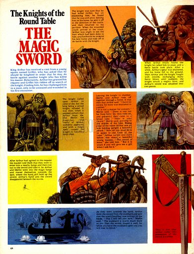 The Knights of the Round Table: The Magic Sword.