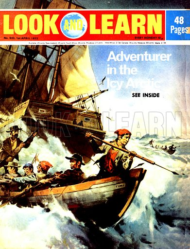 Adventurer in the Icy Arctic. Farmer's son William Scoresby wanted a life of adventure and excitement and found it as a whaler on voyages through the frozen seas and crushing ice of the North Pole.