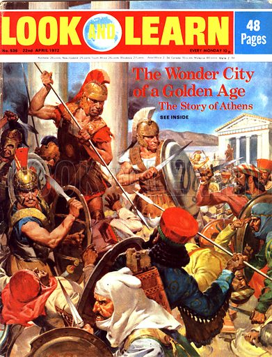 Athens, The Wonder City of the Golden Age.