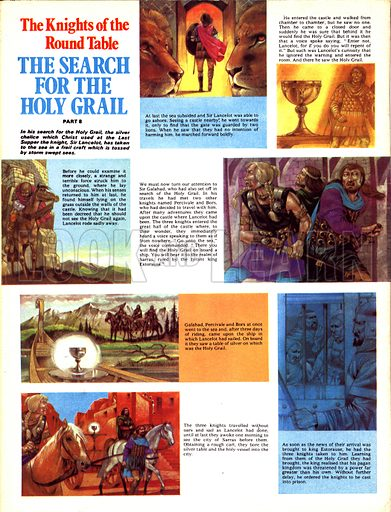 The Knights of the Round Table: The Search for the Holy Grail.