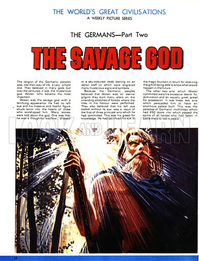 The World's Great Civilisations. The Germans: The Savage God. Wotan.