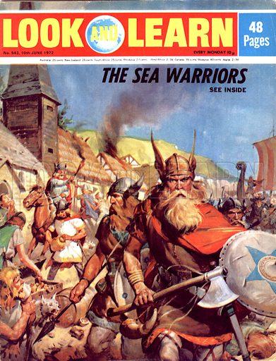 The World's Great Civilisations. The Vikings: The Sea-Warriors. Vikings attack a British coastal town.
