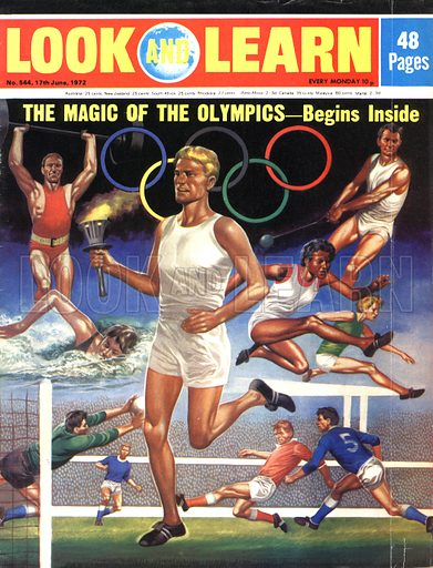 Olympics, picture, image, illustration