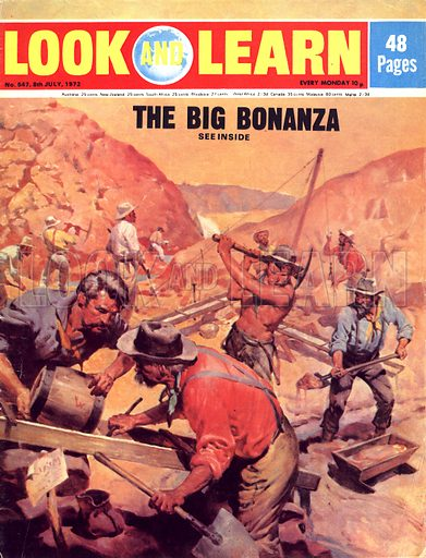 They Made the West: The Big Bonanza. The California Gold Rush.