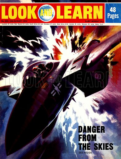 Danger From the Skies. The tremendous power in a flash of lightning can seriously damage and even destroy an aircraft.